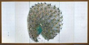 Peacock Folding Screen