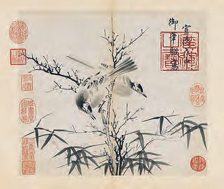 Ming Emperor Xuande painting Cat 63