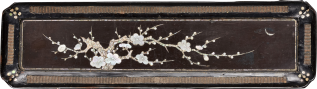 Plum Blossom tray, China, 15th C Ming dynasty