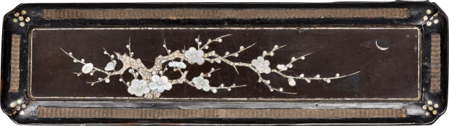 Plum Blossom tray, China, 15th C Ming dynasty