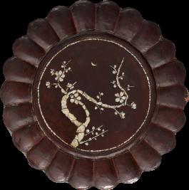 Plum Blossom dish, Korea, 19th C Joseon dynasty